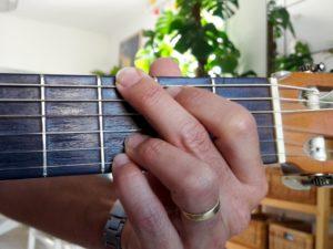 Accord de guitare de Sol
