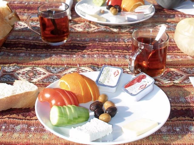 petit déjeuner turc royal